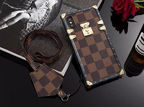 Apple-iPhone-X-XS-10-10S-Elegant-Luxury-PU-2-Folds-Leather-Wallet-Style-Flip-Cover-Case