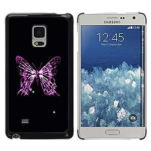 Planetar® ( Butterfly Skeleton ) Samsung Galaxy Mega 5.8 / i9150 / i9152 Fundas Cover Cubre Hard Case Cover