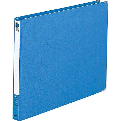 Kokuyo S & T jumbo lever file Z-type B4 15mm in width blue (japan import) by Kokuyo Co., Ltd.