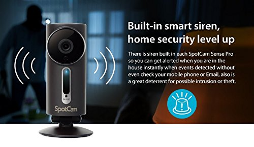 Spotcam Sense Pro Outdoor 1080p Wireless Video