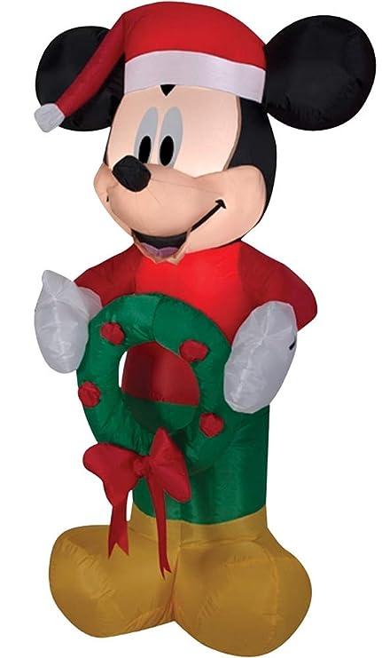 Amazon.com: Mickey Mouse con corona 3.5 foot inflable de ...