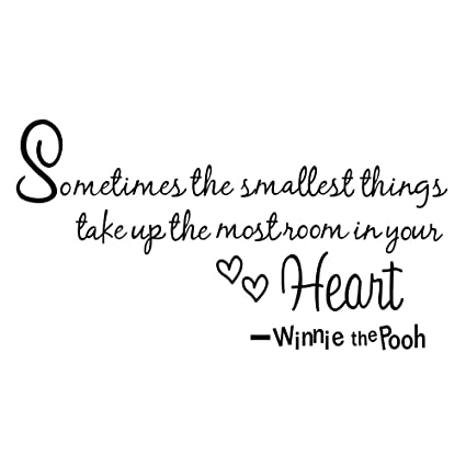 Amazoncom Boodecal Nursery Wall Decor Quotes Decals Winnie The