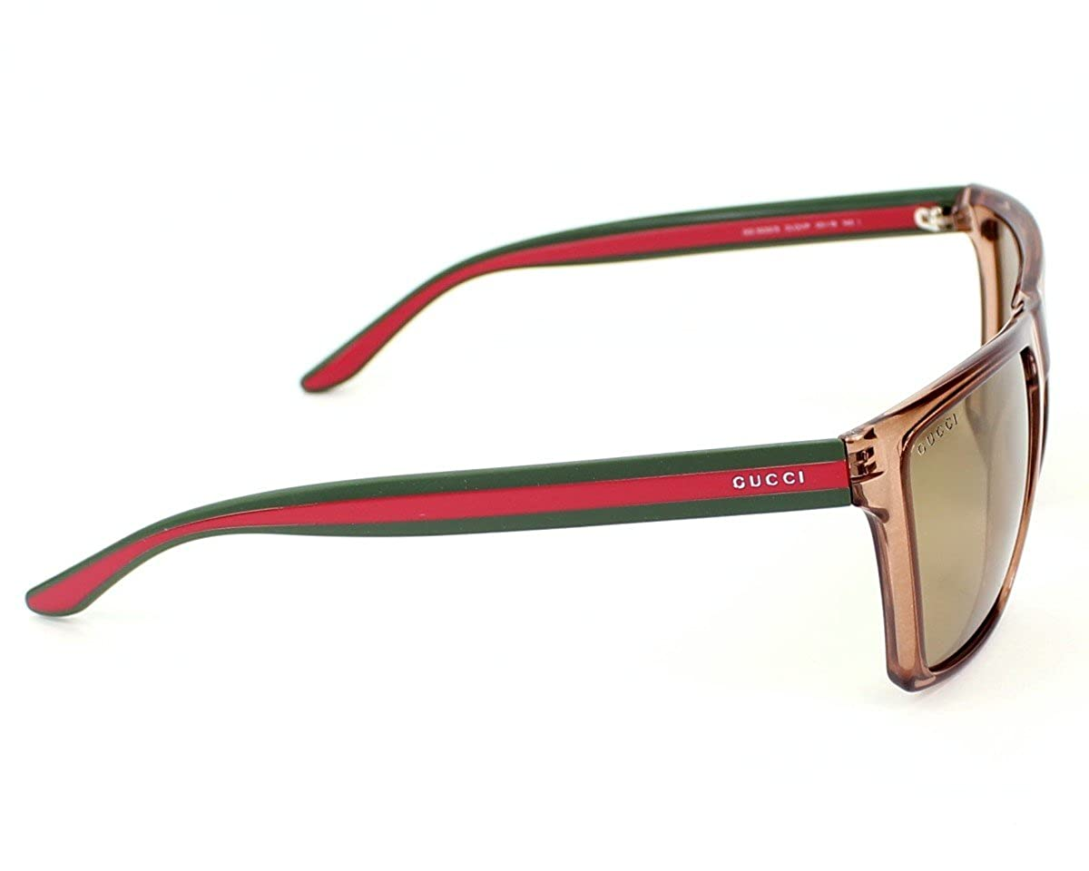 0e1bbe9cf7c Amazon.com  Gucci Sunglasses GG 3535  S CLQVP Acetate Brown Brown mirror   Clothing