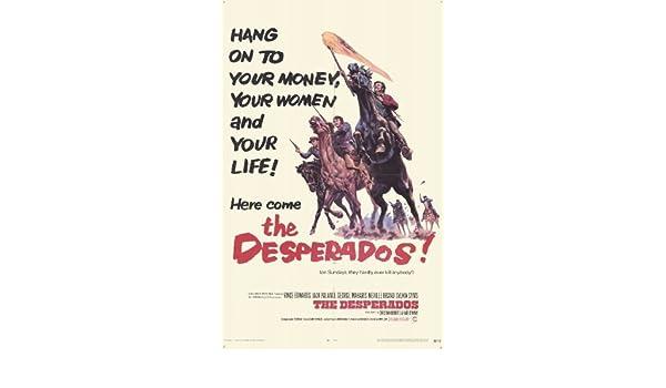 Amazon Com The Desperados Poster Movie 11x17 Jack Palance Vince Edwards Christian Roberts George Maharis Prints Posters Prints