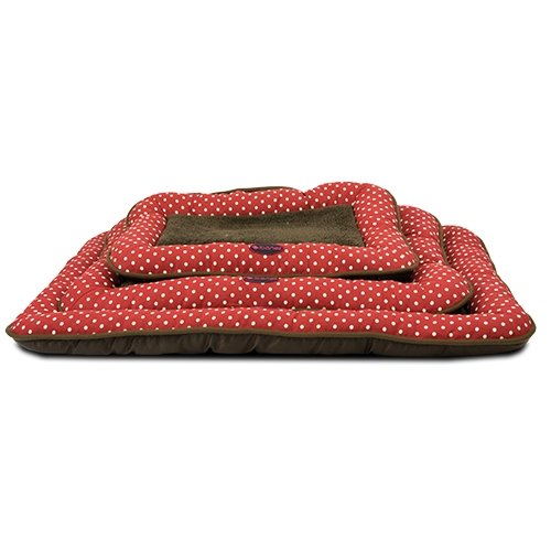Ibañez Colchoneta para Perros roja Lunares Mediana: Amazon.es: Productos para mascotas