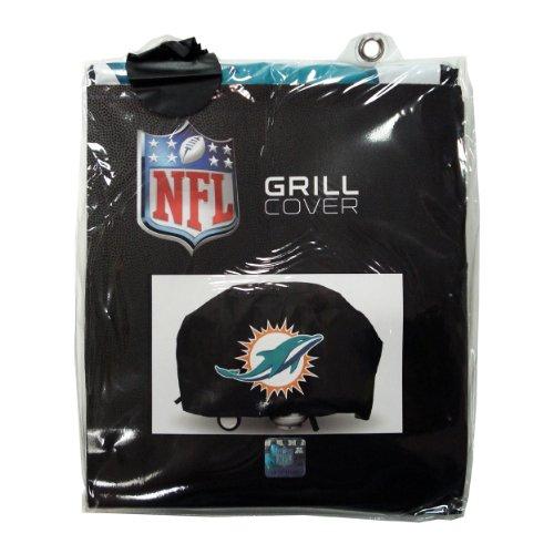 NFL Licensed Economy Grill Cover - Miami Dolphins (Miami Dolphins Grill Cover)