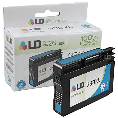 LD © Remanufactured Replacement for 933XL Set of 6 High Yield Ink Cartridges Includes: 2 Cyan CN054AN, 2 Magenta CN055AN, and 2 Yellow CN056AN for us in HP OfficeJet 6100, 6600, 6700, 7110 ePrinter, & 7610 Printers Photo #3