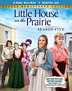 Little House on the Prairie Season 5 [Deluxe Remastered Edition - Blu-ray + Digital HD]
