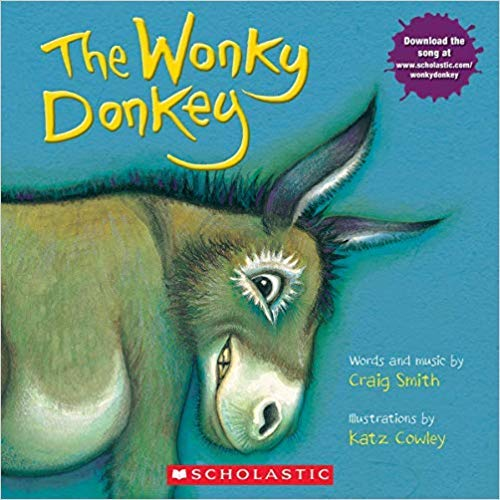 Book cover from The Wonky Donkey by Craig Smith