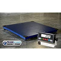 Floor Scale/Heavy Duty Platform 48X48,10,000LBX1 LB,Digital Indicator,Brand New
