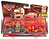 all cars from cars 2 - Disney/Pixar Cars Mater with No Tires and Lightning McQueen with No Tires  Vehicle 2-pack