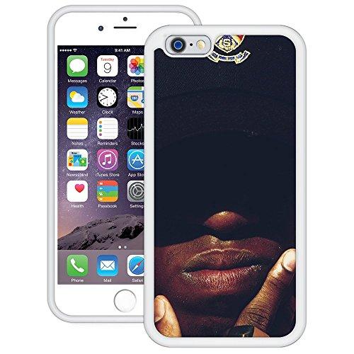 afrikanisch | Handgefertigt | iPhone 6 6s (4,7') | Weiß Hülle