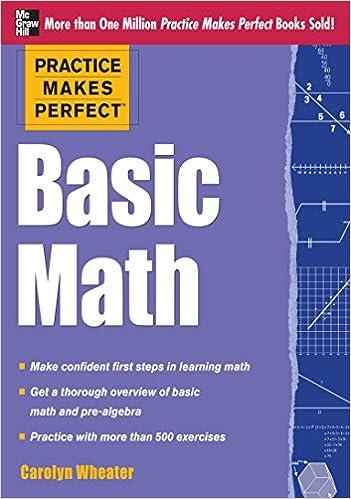 Amazon com: Practice Makes Perfect Basic Math eBook: Carolyn