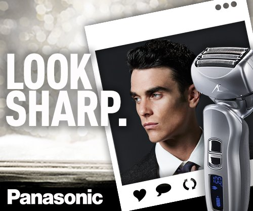 037988566532 - Panasonic ES-LA63-S Arc4 Men's Electric Razor, 4-Blade Cordless with Wet/Dry Shaver Convenience carousel main 12