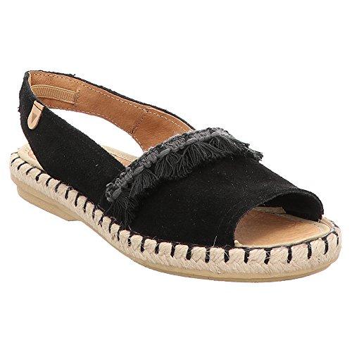 VERBENAS Women's 061SCA-0126-0001 Fashion Sandals Black Black Black