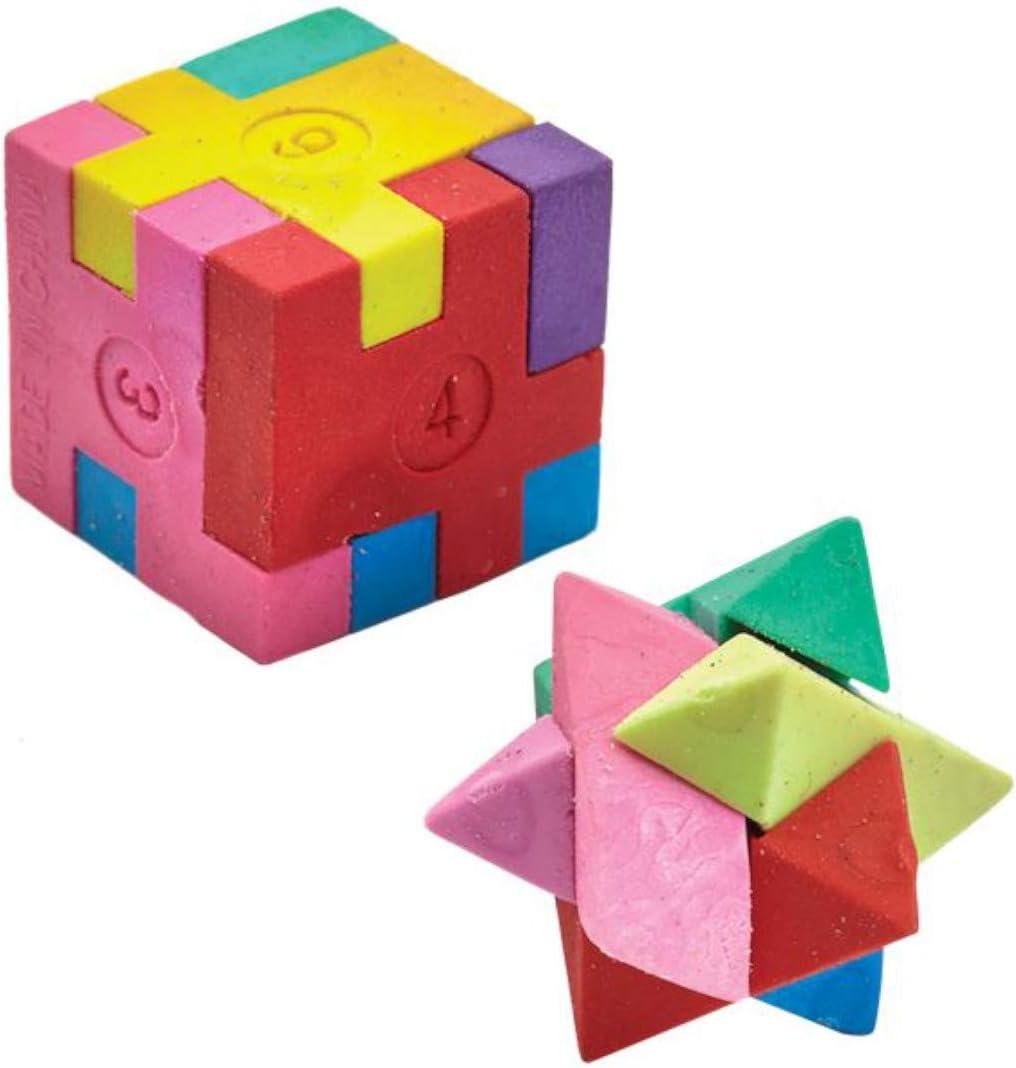 Cube Puzzle Eraser Party Bag Toys