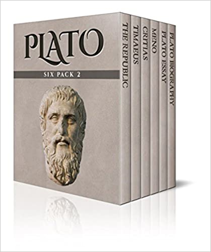 #freebooks – Plato Six Pack 2 (Illustrated): The Republic, Timaeus, Critias, Meno and Essay: Volume 2 1st Edition