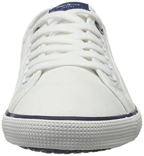 Print Hombre Aberman para Zapatillas Pepe Jeans Blanco White q1OwEUvxW