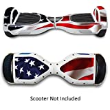 Skin for Self-Balancing Electric Scooter - Sticker for Skate Hover Board - Decal for Self Balance Mobility Longboard - Smart Protective Cover Vinyl Case for 2 Wheel Scoote Board