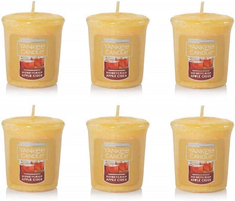 Yankee Candle Bundle of 6 Honeycrisp Apple Cider Votives
