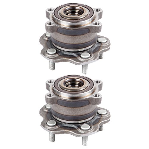 ECCPP Wheel Hub and Bearing Assembly Rear 512388 fit 2007-2016 Nissan Altima Infiniti JX35 RVR Replacement for 5 Lugs Wheel Hubs 2 pcs ()