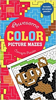 Awesome Color Picture Mazes Conceptis Puzzles