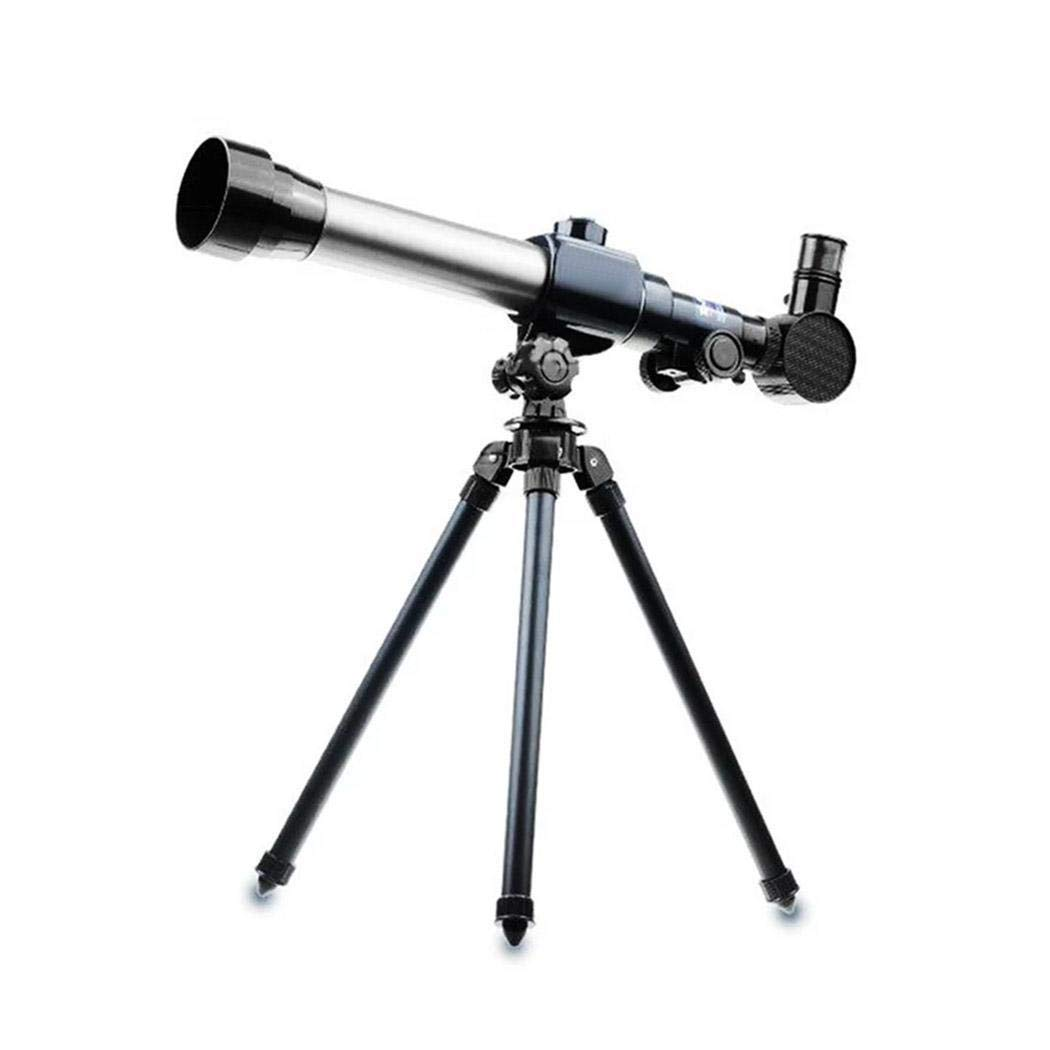 Queind 20X 30X 40X Refractor Astronomical Telescope for Children Combo with Tripod Night Vision Monoculars