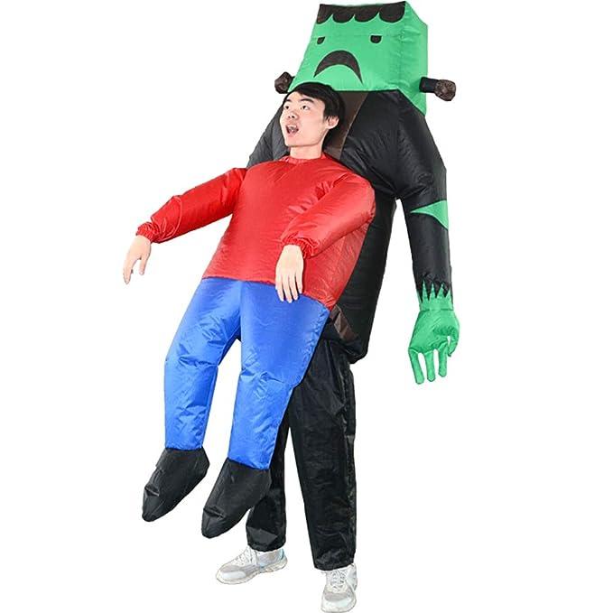 Amazon.com: Disfraz hinchable para Halloween, color morado ...
