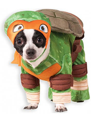 Rubie's Teenage Mutant Ninja Turtles Michelangelo Pet Costume,