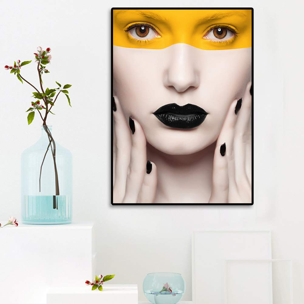 Danigrefinb Nordic style living room art deco woman canvas painting poster wall art picture 1# 21 30cm