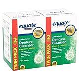 Denture Cleanser Equate Tablets Fresh Mint 240