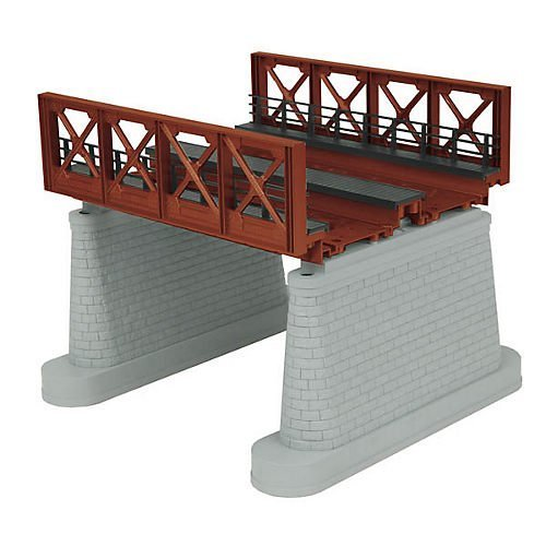 O 2-Track Girder Bridge, Rust