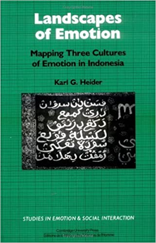 the cultural context of emotion heider karl g
