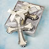 Fashioncraft Decorative Cross Ornaments: Communion And Christening Party Favors, 18