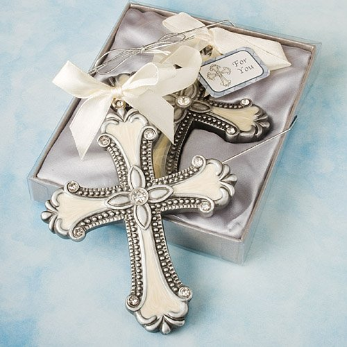 Decorative Cross Ornament Favors - 40 count