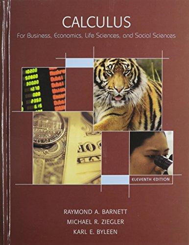 Calculus for Business, Economics, Life Sciences & Social Sciences Value Package (includes MyMathLab/MyStatLab Studen
