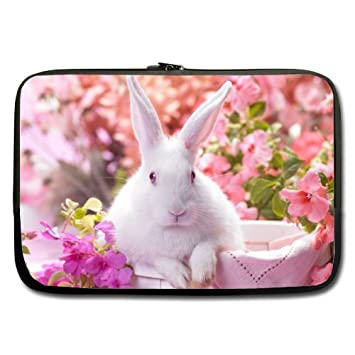 352518116bf8 Amazon.com: Mayers Cute White Rabbit In The Flowers Best Price 13 ...