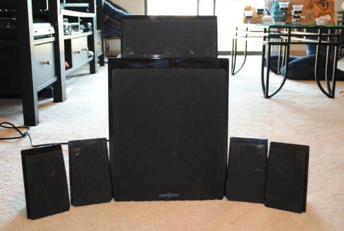 Insigina 5.1-Channel Home Theater Speaker System – Black