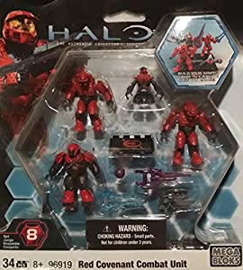 Halo Wars Mega Blocks LOOSE Mini Figure UNSC Red Spartan with ...