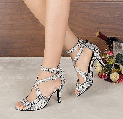 35 Blanc danse Chaussures femme Minitoo Blanc de wUxBv
