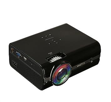 XHL Art Proyector Vedio Uhappy U45 Proyector 7500 Lúmenes 1080P 3D ...