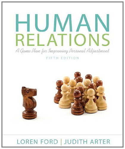 Personal Plan (Human Relations: A Game Plan for Improving Personal Adjustment (5th Edition))