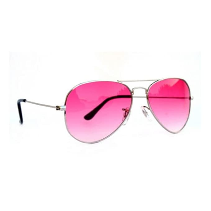 4e81bd6878 Briota Pink Shade Aviator Transparent Sunglasses For Women   Girls   Amazon.in  Clothing   Accessories