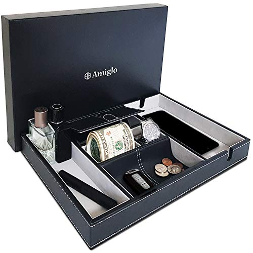 Amiglo Valet Tray for Men | Phon...