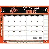 "Turner Licensing Sport 2017 Baltimore Orioles Desk Pad Calendar, 22""X17"" (17998061499)"