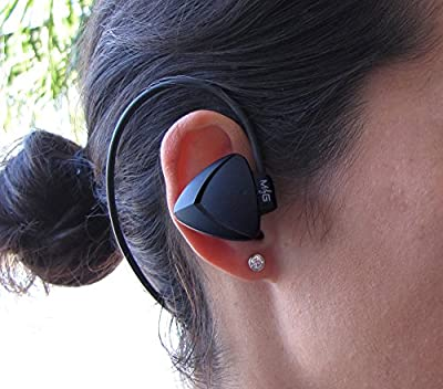 In-Ear Sport Bluetooth Wireless Headset / Headphone / Earphones / Earbuds - Best for Running, Exercise, Gym or Cycling - Bluetooth Compatible 4.0 - 1 Yr Warranty/30 Day Guarantee - Grv-E-Sport/GRV1479
