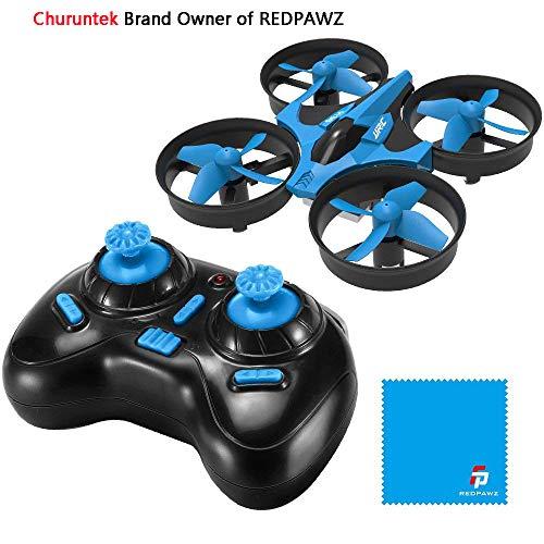 REDPAWZ H36 Mini Drone 2.4G 4CH 6Axis Gyro Headless Mode Remote Control RC Quadcopter RTF One-Key Return -