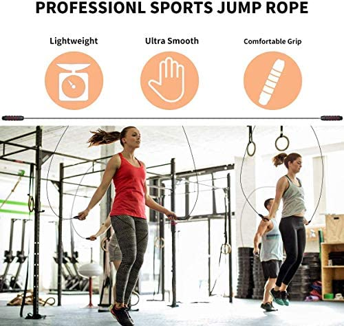 Details about  /Jump Rope  Lightweight Student Bearing Fitness Gym Speed Sport Equipment