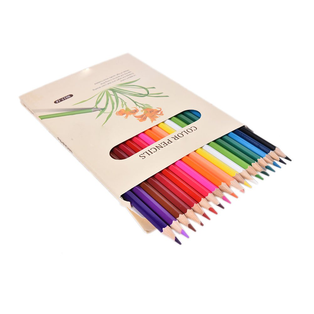 FineアートColored Pencils Set – For図面鉛筆アーティストスケッチby XIDAJE – Kids Artist Writing、大人用Secret Garden Coloring Book ( Not Included ) B01M7RMY6I 18 Colors
