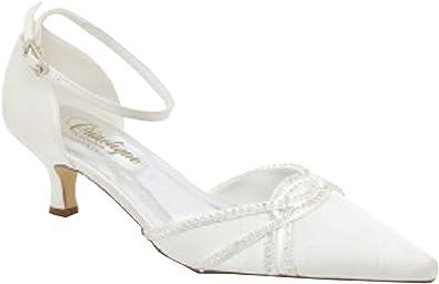 Chaussure Femme, Mariage, cérémonie, Escarpin, Crinoline